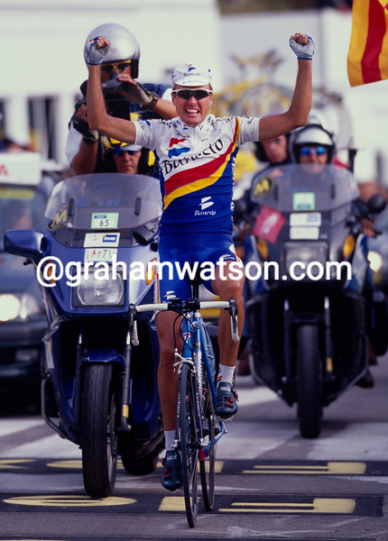 Alex Zulle in the 1999 Tour of Spain