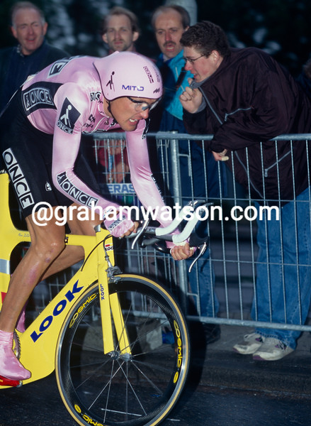 Alex Zulle in the 1996 Tour de France Prologue