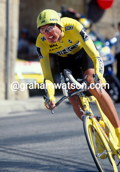 Alex Zulle in the 1997 Tour of Spain