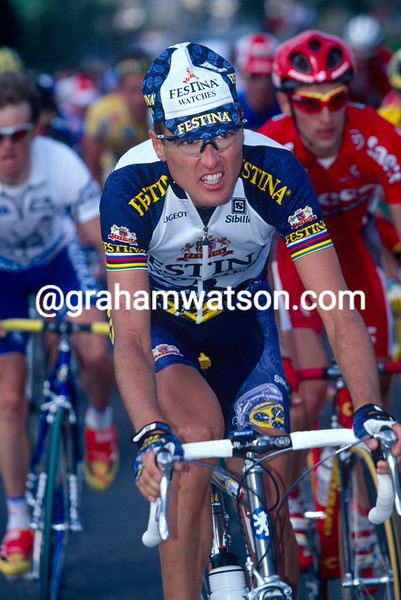Alex Zulle in the 1999 Tour de Romandie