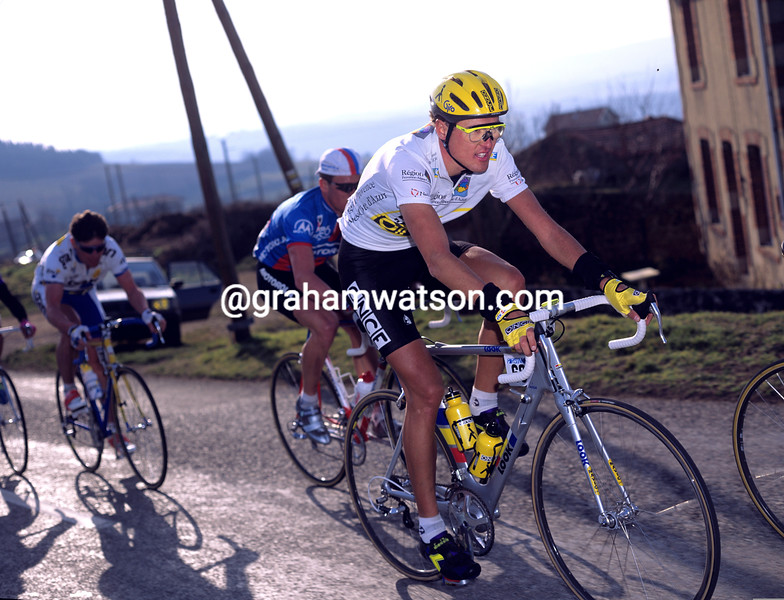 Alex Zulle wins the 1996 Paris-Nice