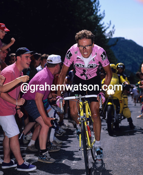 Alex Zulle in the 1995 Tour de France