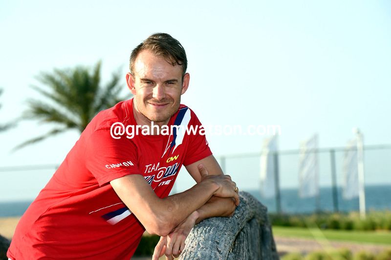 Alexander Kristoff before the 2015 Tour of Oman