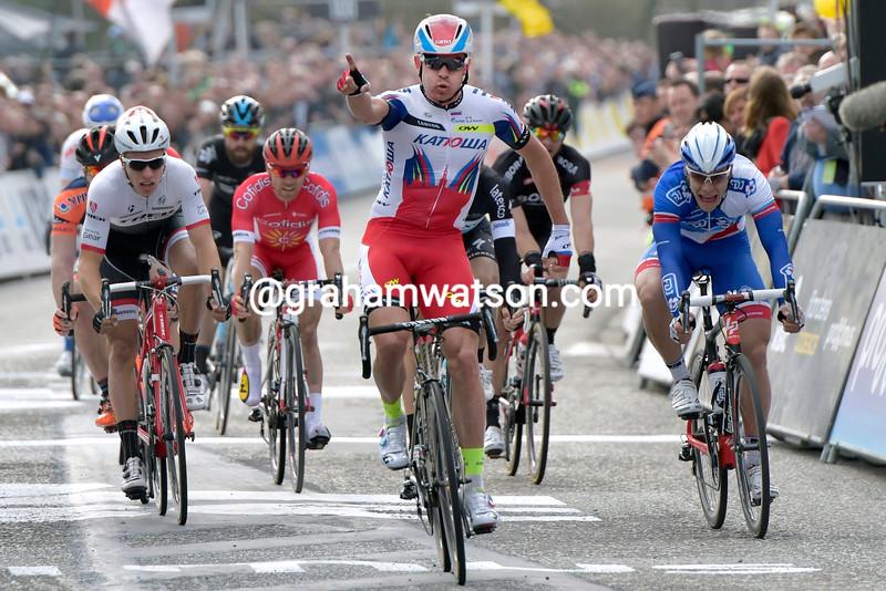 Alexander Kristoff wins the 2015 Scheldeprijs