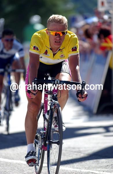 Alexandre Vinokourov in the 2003 Tour de Suisse