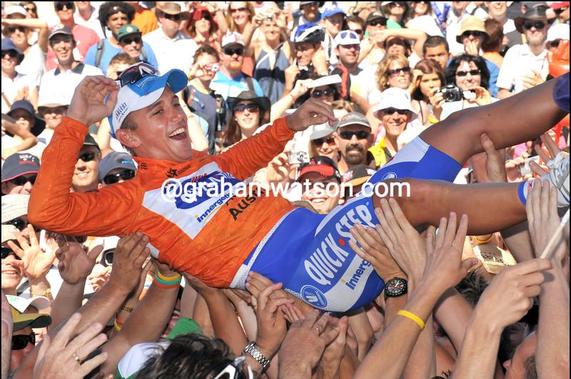 Allan Davis wins the 2009 Tour Down Under