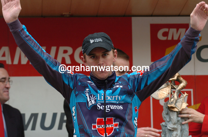 Allan Davis wins a stage of the 2005 Tour of Murcia