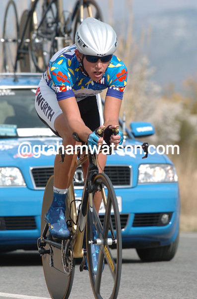 Allan Davis on a stage of the 2005 Tour of Murcia