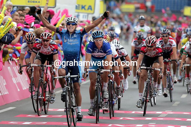 Allan Davis wins stage five of the 2005 Deutschland Tour