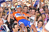 ALLAN DAVIS GOES BODY-SURFING AFTER STAGE SIX OF THE TOUR DOWN UNDER