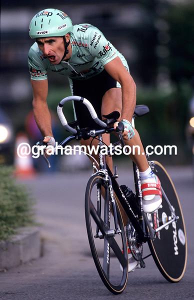 Allan Peiper in the 1992 G.P. Eddy Merckx