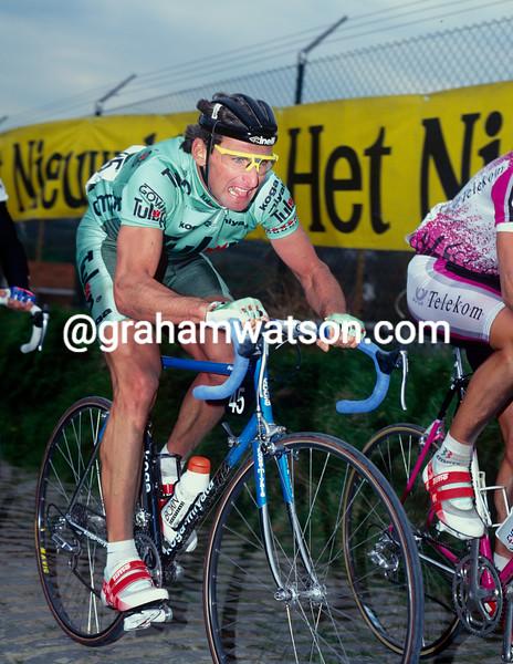 Allan Peiper in the 1992 Tour of Flanders