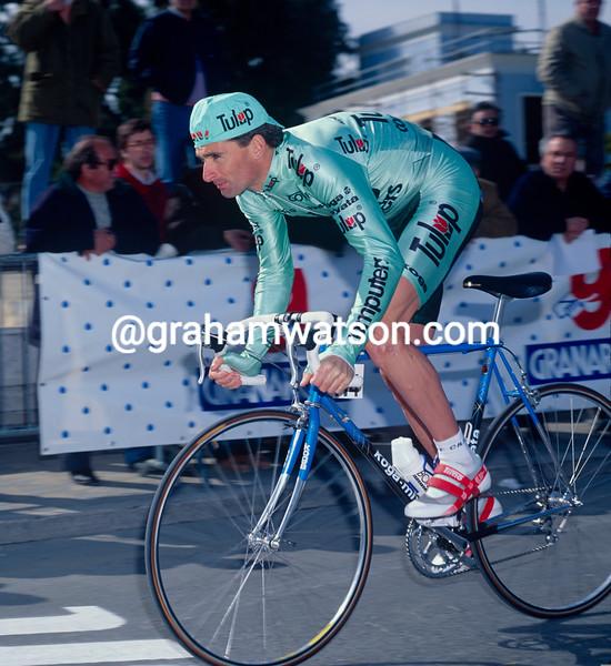 Allan Peiper in the 1992 Tirreno-Adriatico