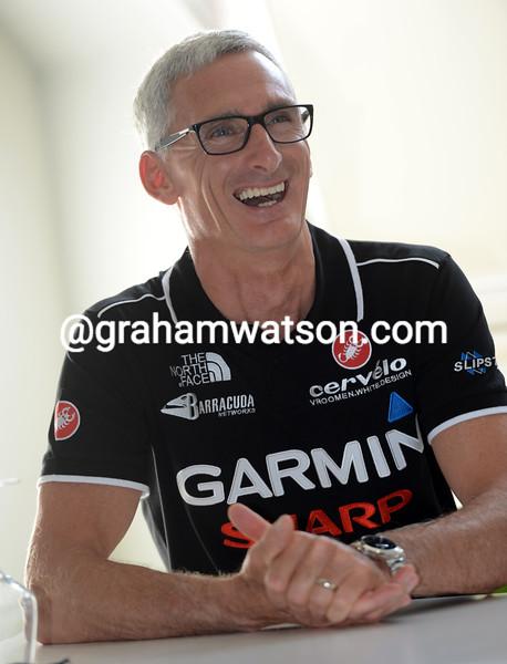 Allan Peiper at the Tour de France presentation 2012
