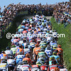 The Amstel Gold peloton climbs the Gulpenerberg in 2010