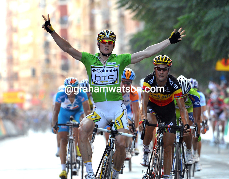 ANDRE GREIPEL WINS STAGE FIVE OF THE 2009 TOUR OF SPAIN