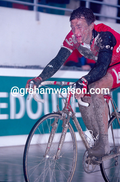 Andre Tchmil in the 1994 Paris-Roubaix