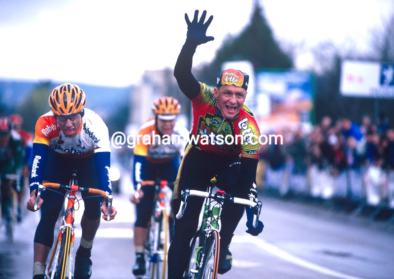 Andre Tchmil wins a stage of the 1995 Paris-Nice