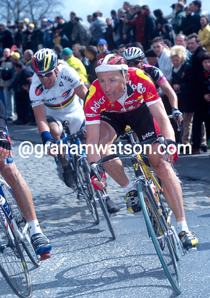 Andre Tchmil in the 2001 Tour of Flanders