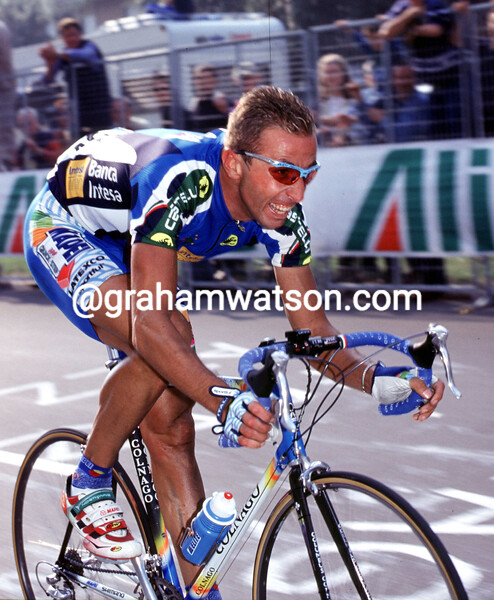 Andrea Tafi in the 1999 World Road Championship