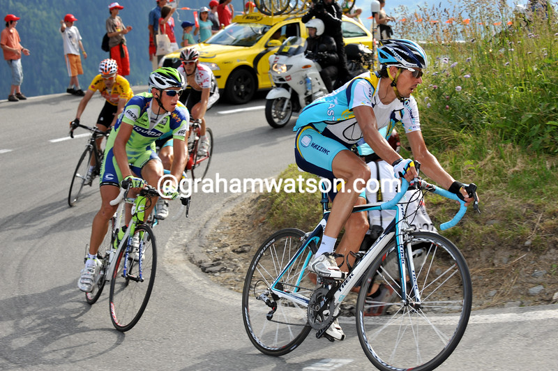 Andreas Kloden in the 2008 Tour of Switzerland