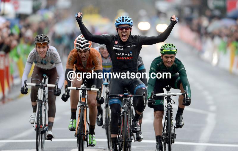 Andrew Talansky wins stage three of Paris-Nice