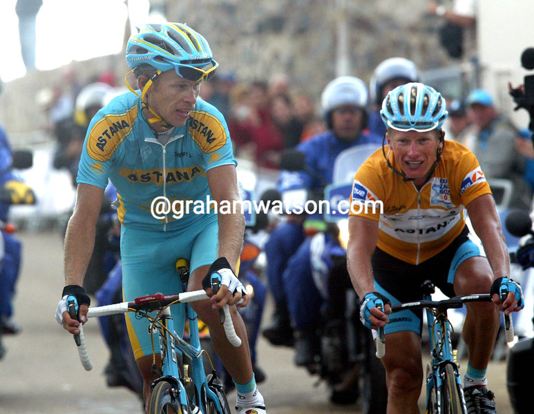 ANDREY KASHECHKIN WINS A STAGE OF THE 2006 TOUR OF SPAIN