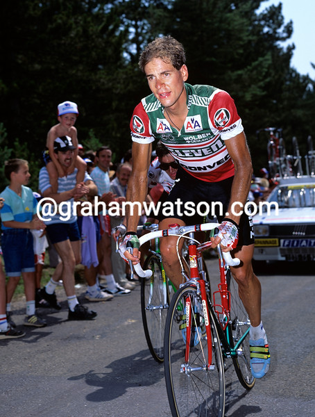 Andy Hampsten in the 1990 Tour de France