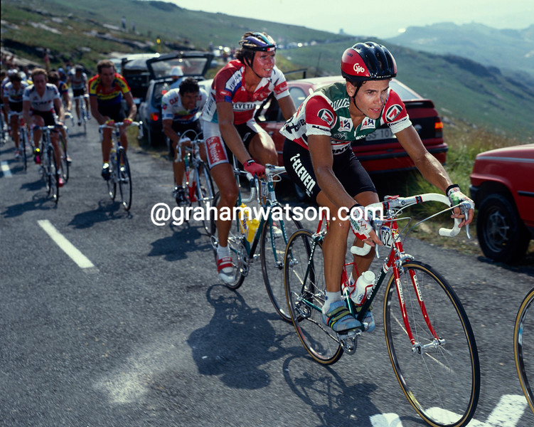 Andy Hampsten in the 1989 Clasica San Sebastian
