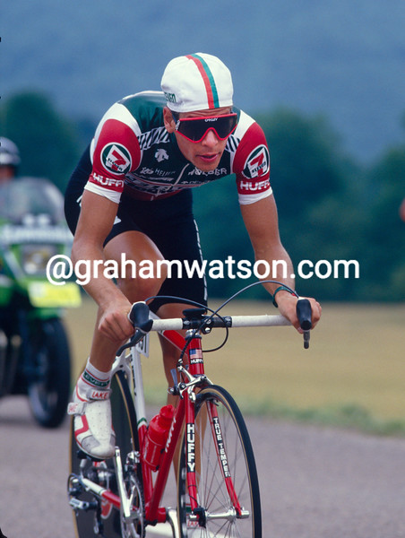 Andy Hampsten in the 1989 Tour de France