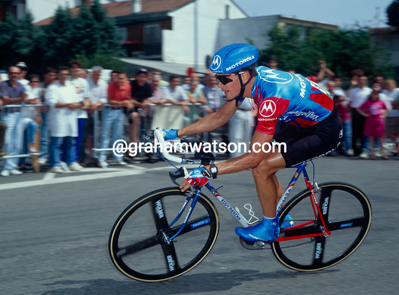 Andy Hampsten in the 1992 Tour de France