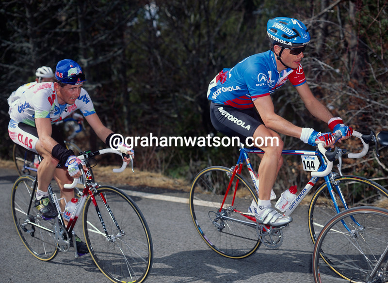 Andy Hampsten in the 1991 Paris-Nice