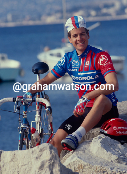 Andy Hampsten in 1991