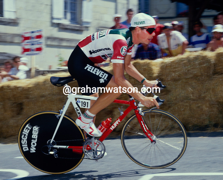 Andy Hampsten in the 1987 Tour de France