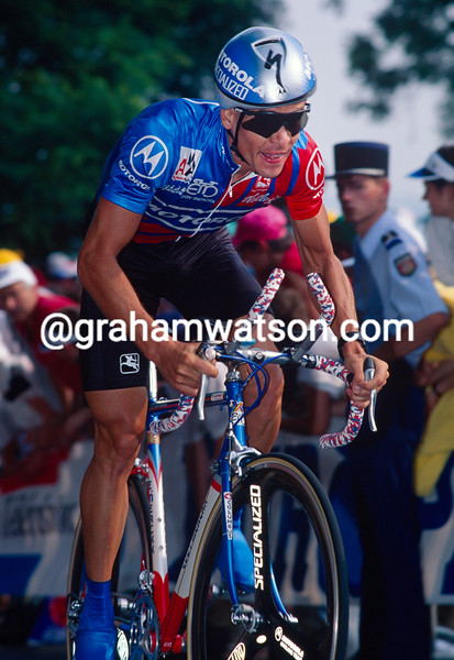 Andy Hampsten in the 1993 Tour de France