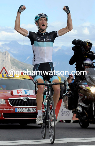 ANDY SCHLECK WINS STAGE EIGHTEEN OF THE 2011 TOUR DE FRANCE