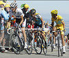 ANDY SCHLECK AND ALBERTO CONTADOR ON STAGE TWENTY OF THE 2009 TOUR DE FRANCE