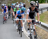 Andy Schleck leads an escape on stage nine of the 2014 Tour de Suisse