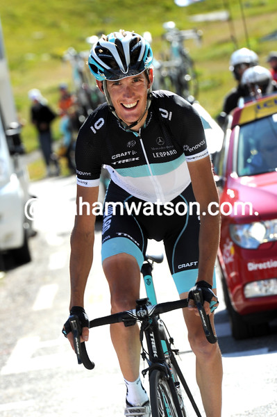 ANDY SCHLECK ON STAGE EIGHTEEN OF THE 2011 TOUR DE FRANCE
