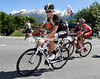 Andy Schleck on stage eight of the 2014 Tour de Suisse