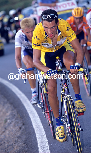 Angel Casero in the 2000 Tour of Spain