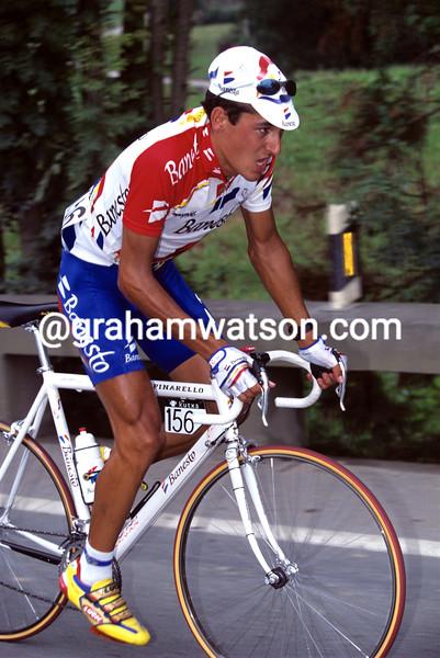 Angel Casero in the 1993 Clasica San Sebastian