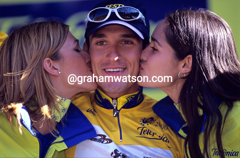 Angel Casero in the 2001 Tour of Spain