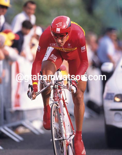 Angel Casero in the 1999 Tour de France