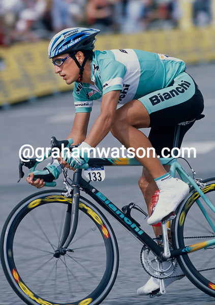 Angel Casero in the 2003 Tour de France