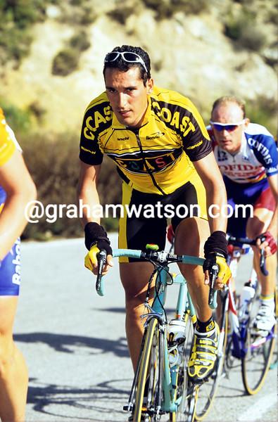 Angel Casero in the 1997 Ruta del Sol