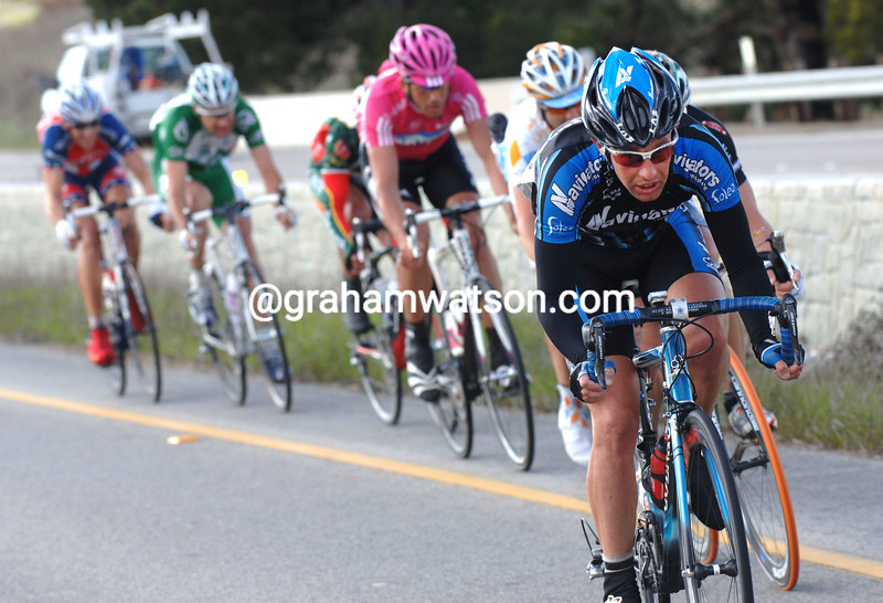 HILTON CLARKE LEADS AN ESCAPE IN THE 2007 TOUR OF CALIFORNIA