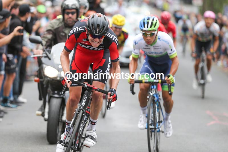 Campbell Flakemore attacks in the 2015 Australian TT championships