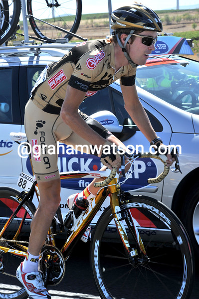 Johnnie Walker in the 2010 Tour of Spain