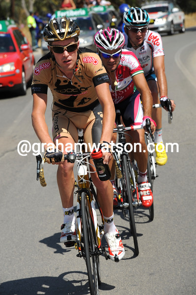 JOHNNIE WALKER leads an escape ON STAGE TWO OF THE TOUR OF SPAIN
